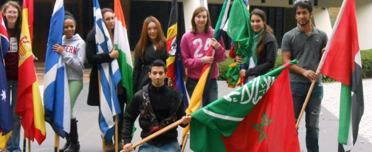 Campus Celebrates International Education Week