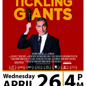 FILM SCREENING: Tickling Giants (2016) | 1h 51min | April 26, 4:00 PM | Ferrell
