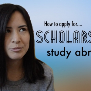 Education Abroad National Scholarship Workshop Thursday, September 28, 3:00 pm —